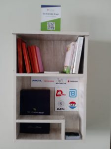 Library In Service Apartment